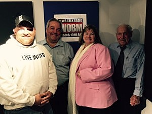 (L-R) Robert Clark, Robert Cerco, Linda Gyimoti, Dick Read (Tom Mongelli, Townsquare Media)