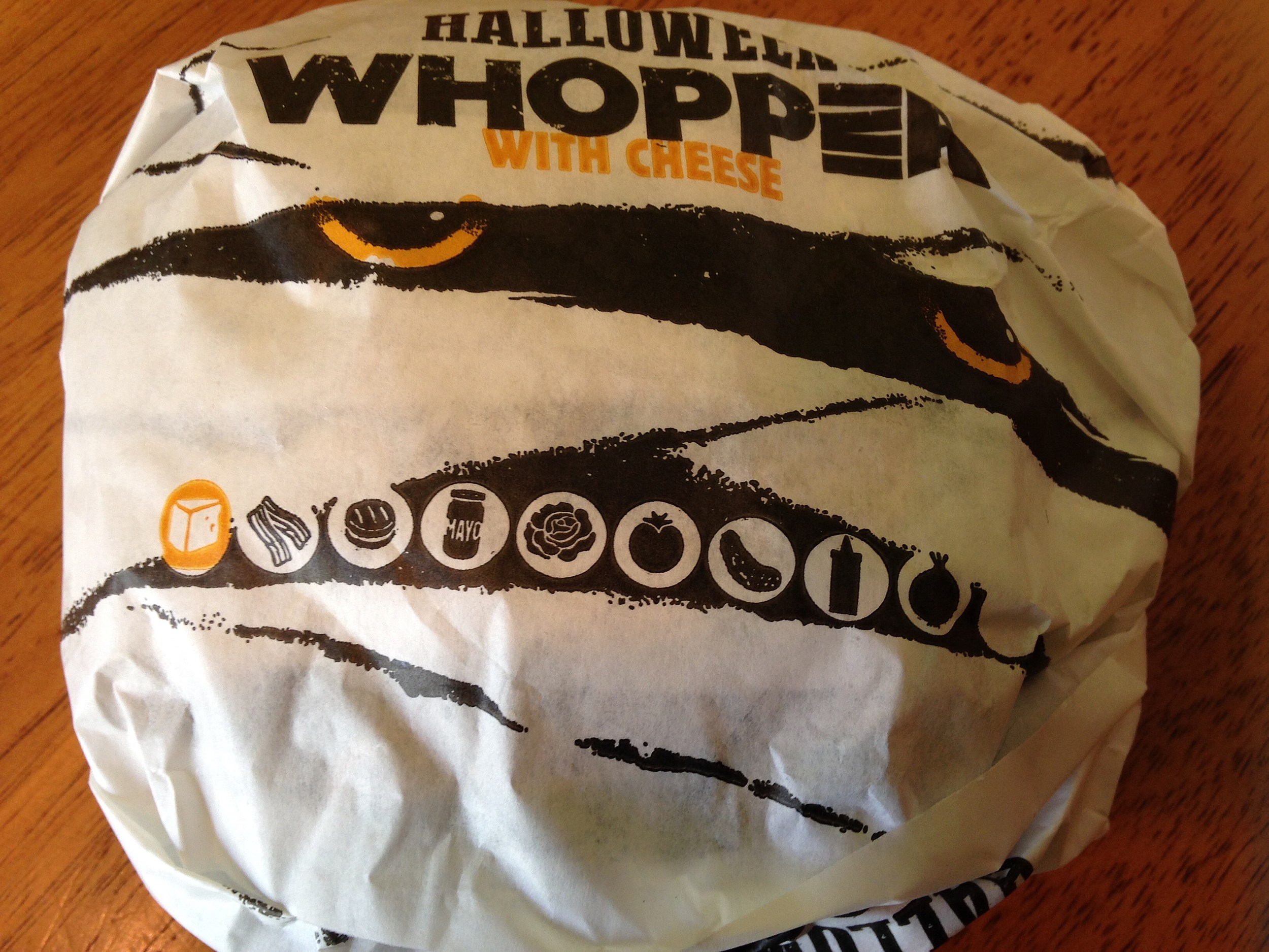 Ocean County it's the The Halloween Whopper