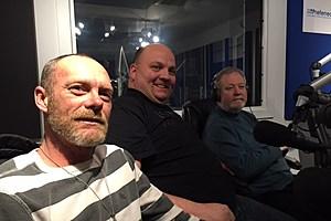 Frank Bauer, Paul Hulse and Bill Southrey/photo by Tom Mongelli, TSM News.