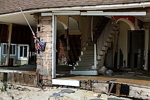NJ Beach Town Devastated By Hurricane Sandy Tears Down Storm-Damaged Homes