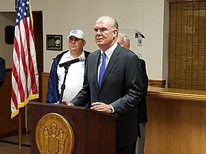 NJ DEP Commissioner Bob Martin (Vin Ebenau, Townsquare Media)