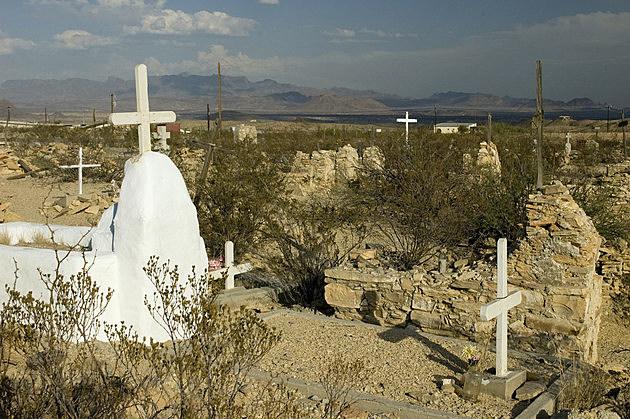 Terlingua Ghost Town Cemetery, Big Bend, Texas