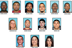 Arrestees, Operation Justice Served (Monmouth Co. Prosecutor's Office)