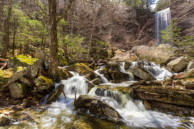 Spring at Stony Kill Falls