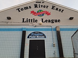 Toms River East Little League Indoor Practice Facility also known as the Frazier Fieldhouse. (Vin Ebenau, Townsquare Media)