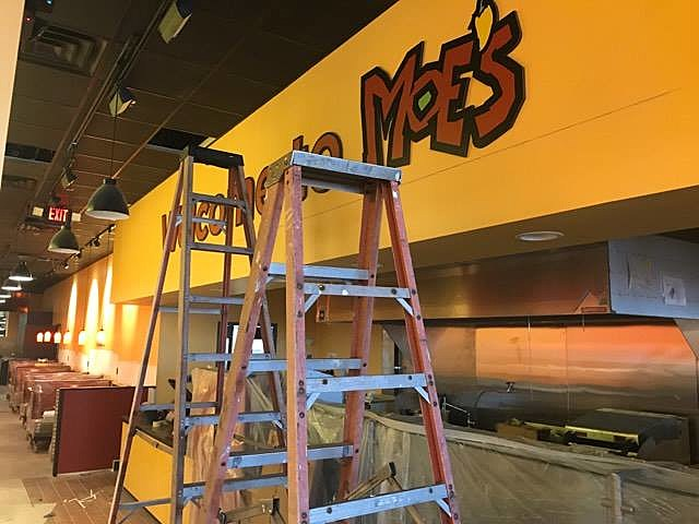Moe's Southwest Grill's New Toms River Location (Photo by Justin Louis)
