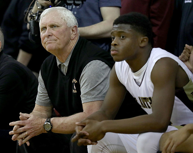 Head coach Bob Hurley of the St. Anthony Friars