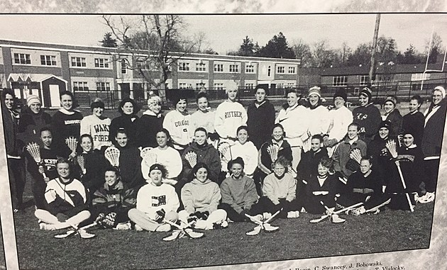 Lacrosse team at Toms River South in 1998