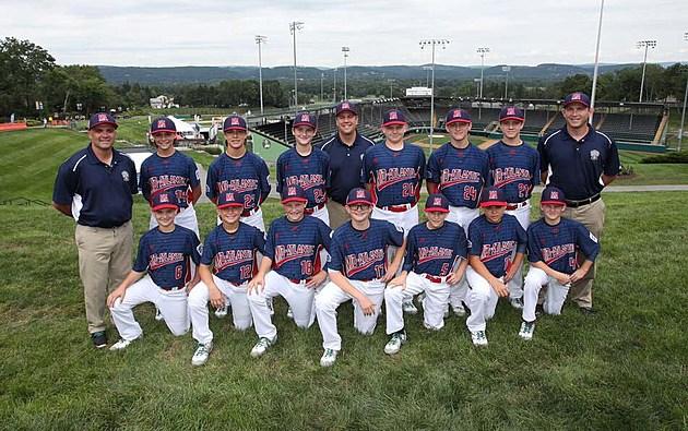 Holbrook Little League team in Williamsport
